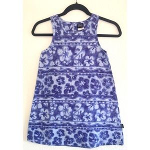 Patagonia girl's floral dress size 10 / medium